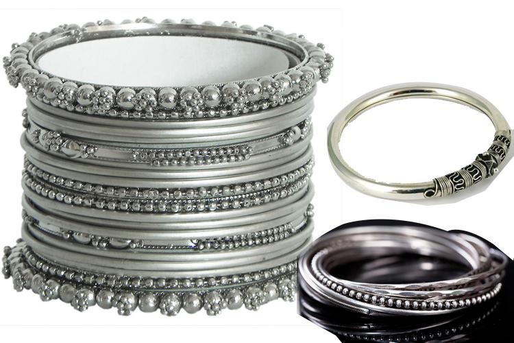 Oxidized bangles