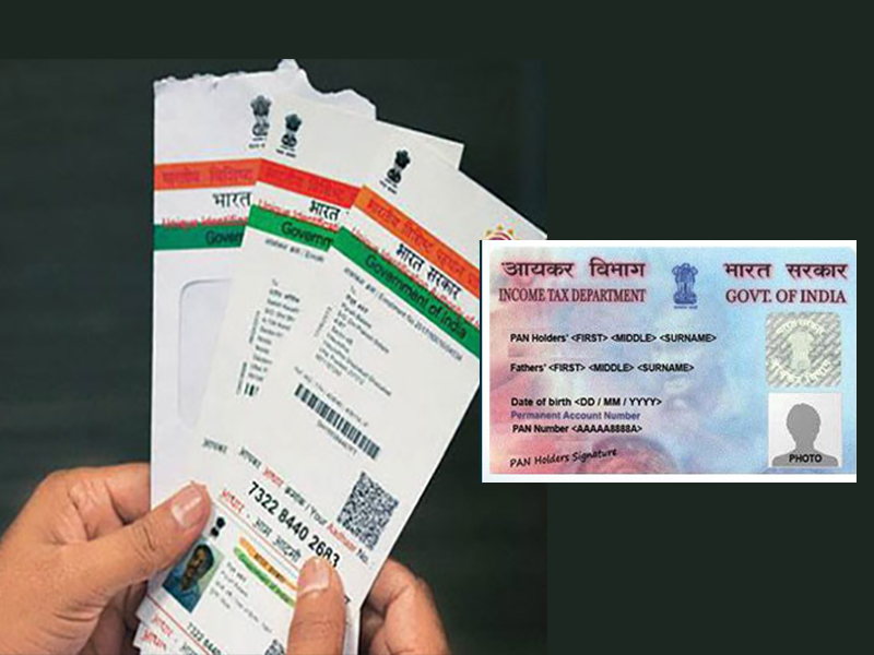 Income tax department launches an online facility to corrent errors in PAN and Aadhaar