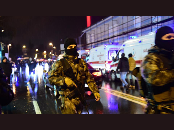 35 killed in terror attack on a famous nightclub in Turkey